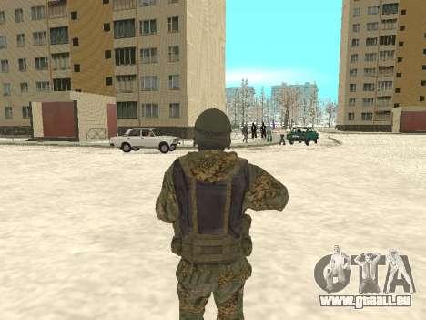 Spetsnaz MVD für GTA San Andreas zweiten Screenshot