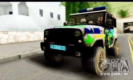 UAZ hunter 315195 für GTA San Andreas