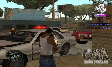 C-HUD Skillet pour GTA San Andreas quatrième écran