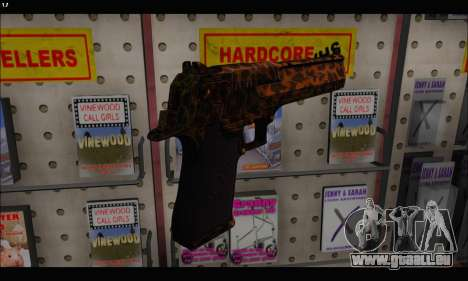 Leopardo Deagle für GTA San Andreas dritten Screenshot