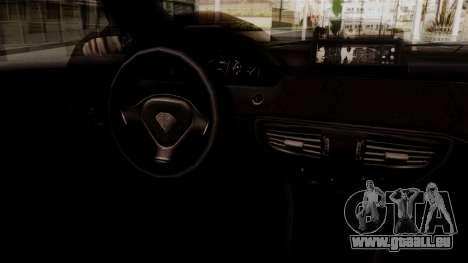 GTA 5 Schafter für GTA San Andreas zurück linke Ansicht