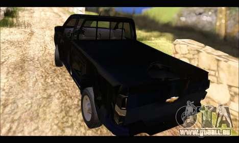Chevrolet S10 Cabina Simple 2014 für GTA San Andreas linke Ansicht