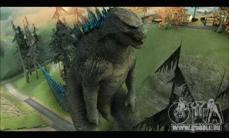 Godzilla 2014 für GTA San Andreas