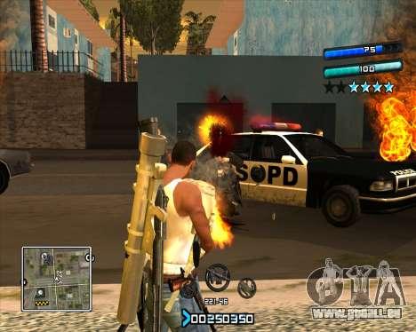 C-HUD Super Cull pour GTA San Andreas deuxième écran