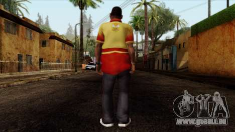 GTA 4 Skin 90 pour GTA San Andreas deuxième écran