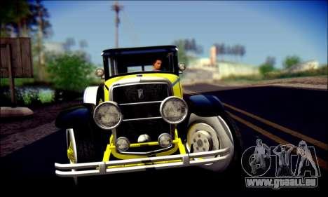 Albany Roosevelt (GTA V) pour GTA San Andreas vue de dessus