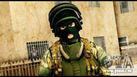 Support Troop from Battlefield 4 v3 für GTA San Andreas dritten Screenshot