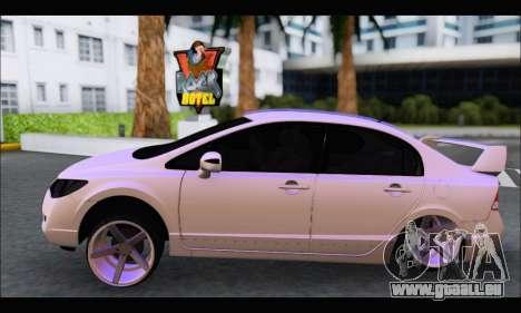 Honda Civic Korea Style pour GTA San Andreas laissé vue