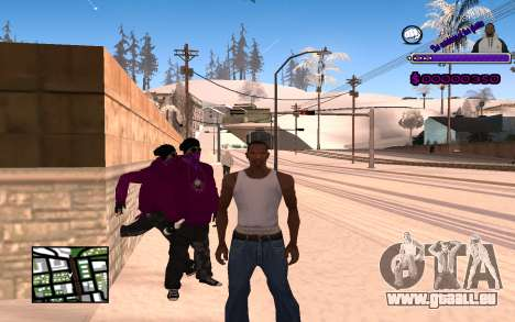 С-HUD Ghetto pour GTA San Andreas
