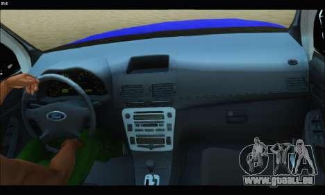 Ford Ranger P.B.A 2015 Text2 für GTA San Andreas rechten Ansicht