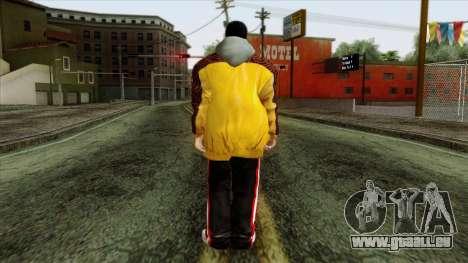 GTA 4 Skin 31 pour GTA San Andreas deuxième écran