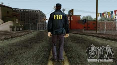 Police Skin 3 pour GTA San Andreas deuxième écran