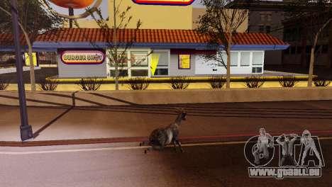 La possibilité de GTA V à jouer pour les animaux pour GTA San Andreas onzième écran