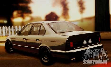 BMW 525 E34 Rims pour GTA San Andreas laissé vue