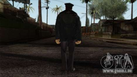 Police Skin 6 pour GTA San Andreas deuxième écran