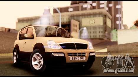 SsangYong Rexton 2005 für GTA San Andreas