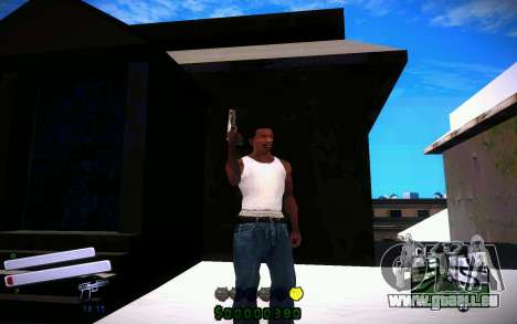 C-HUD v4.0 für GTA San Andreas dritten Screenshot