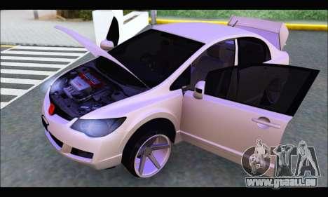Honda Civic Korea Style pour GTA San Andreas vue de droite