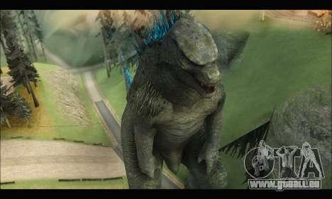 Godzilla 2014 pour GTA San Andreas troisième écran