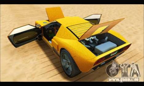Vapid Bullet Gt (GTA V TBoGT) für GTA San Andreas Seitenansicht