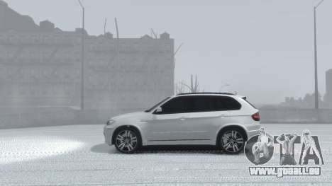 BMW X5M 2011 für GTA 4 Rückansicht