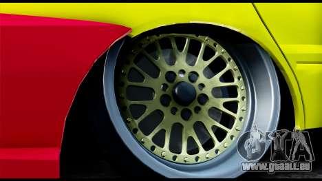 Mitsubishi Lancer Evo 9 für GTA San Andreas zurück linke Ansicht