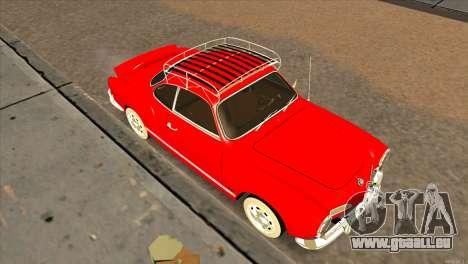 Volkswagen Karmann Ghia für GTA San Andreas rechten Ansicht