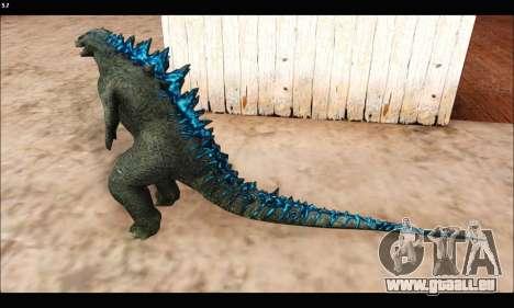 Babyzilla 2014 (Godzilla) pour GTA San Andreas troisième écran