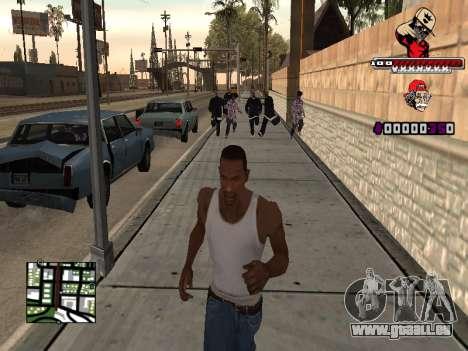C-HUD SWAG pour GTA San Andreas