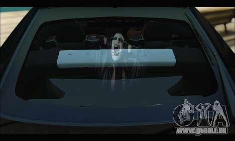 Nissan 350Z Rock pour GTA San Andreas vue intérieure