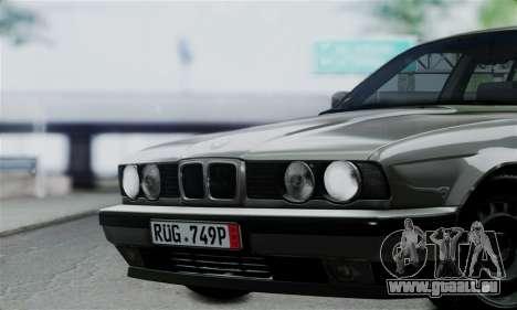 BMW 525 E34 Rims für GTA San Andreas rechten Ansicht