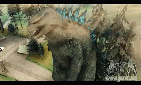 Godzilla 2014 pour GTA San Andreas deuxième écran