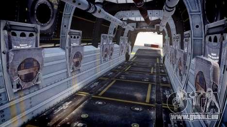Bell CV-22 Osprey [EPM] pour GTA 4 Vue arrière