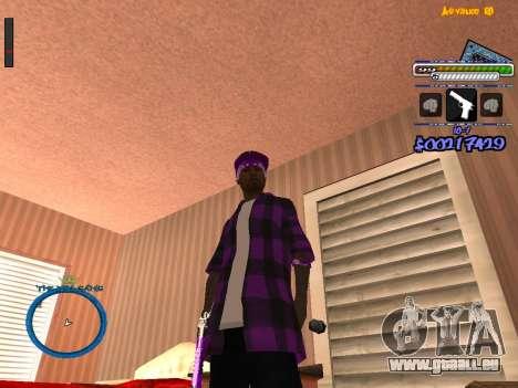C-HUD by Rifa für GTA San Andreas zweiten Screenshot