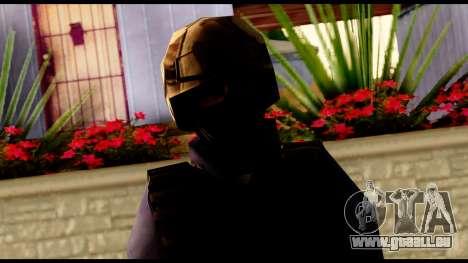 Counter Strike Skin 5 pour GTA San Andreas troisième écran