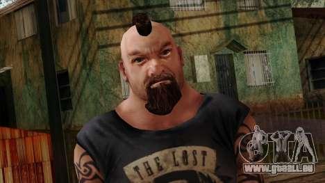 GTA 4 Skin 55 pour GTA San Andreas troisième écran