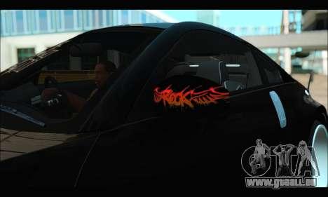 Nissan 350Z Rock für GTA San Andreas Rückansicht