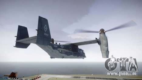 Bell CV-22 Osprey [EPM] pour GTA 4 est une gauche