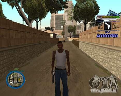 C-HUD by Rifa für GTA San Andreas dritten Screenshot