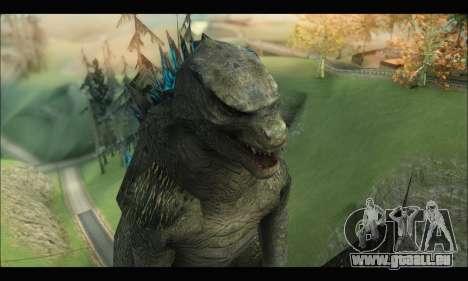 Godzilla 2014 pour GTA San Andreas quatrième écran