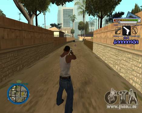 C-HUD by Rifa pour GTA San Andreas