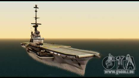 Colossus Aircraft Carrier pour GTA San Andreas
