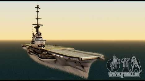 Colossus Aircraft Carrier für GTA San Andreas