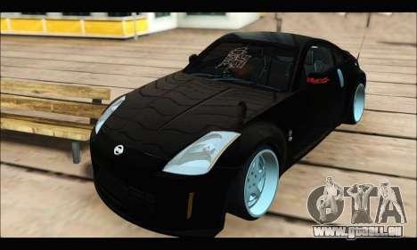 Nissan 350Z Rock pour GTA San Andreas