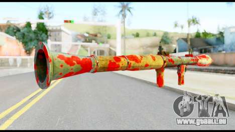 Rocket Launcher with Blood für GTA San Andreas zweiten Screenshot