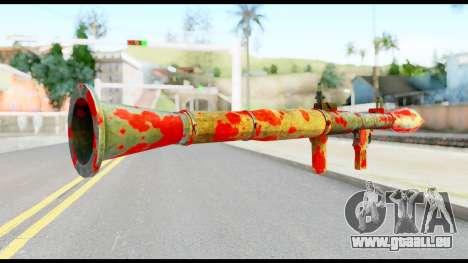 Rocket Launcher with Blood für GTA San Andreas zweiten Screenshot