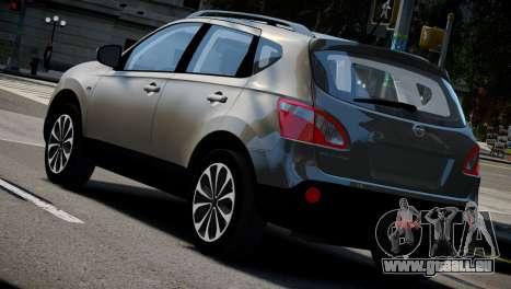 Nissan Qashqai 2011 pour GTA 4 est une gauche