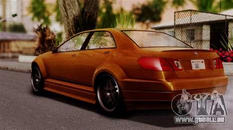 GTA 5 Schafter für GTA San Andreas linke Ansicht