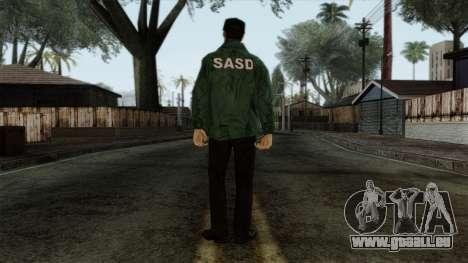 Police Skin 1 pour GTA San Andreas deuxième écran