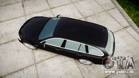 BMW 525d F11 2014 Facelift Civilian für GTA 4 rechte Ansicht